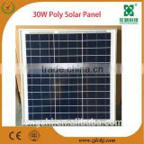 20watt 30watt 50watt small size solar panel 12v