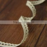 2015 wholesale cotton white crochet lace ribbon