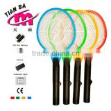 Jinhua Best selling cheapest price 2AA battery insect swatter mosquito racket battery mosquito killing bat