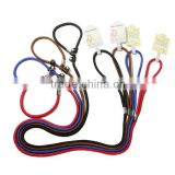 multi colors decorative retractable dog flexible pet collars pet leashes                                                                         Quality Choice