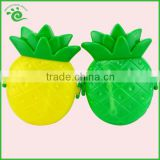 ~ Food Grade PP Colored Lovely Banana Plastic Kids Fruit Shaped Lunch Box