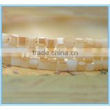 Cube shape glass beads, bead treasures glass beads
