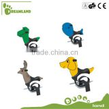 High quality playground spring rider spring bouncer