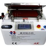 New arrival AK OCA vacuum laminating machine with built-in bubble remove machine for 12 inch screens,easy operating