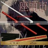 Wholesale Japanese Zatoichi Katana Shirasaya Sword 1: 1 Red ZTC02