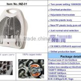hot selling 2000W fan heater electric mini fan heater 2KW electrical room heater/industrial fan heater/heater fan                                                                         Quality Choice