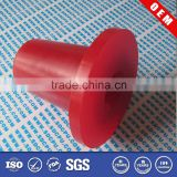 Rubber bush sleeve coupling for nylon gear