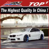 2011-2015 F10 5 Series blade design wide body kit the highest quality PU/Carbon Fiber Body Kits for BMW F10 HM