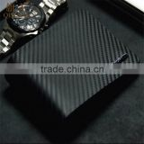 CARBON FIBER BIFOLD WALLET LUXURY GENUINE LEATHER SLIM WALLET MENS CARD HOLDER PURSE                                                                         Quality Choice