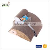 Mouse shaped premium cat scratcher tow in one lounge bed