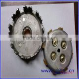 SCL-2012122052 motorcycle parts for JY110 clutch pressure plate and clutch cover assy
