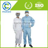 Antistatic ESD Clean room polyester clothing overcoat smock lab coat uniform workwear suit                                                                                         Most Popular