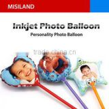 DIY Inkjet printable photo Balloon (print photo on balloon, decoration and gift, personalized product)