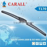 Hybrid universal wiper blade for all japanese car with three part ABS spoiler