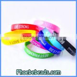 Wholesale High Quality Silicon Wristbands Custom Size SW-A001