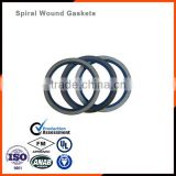 Spiral wound gasket filled with Expanded graphite