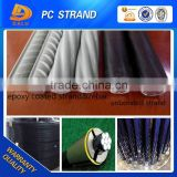 7 Wires ASTM A882 Epoxy Coated PC Strand