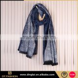 Interesting hot sale digital printing scarf shawl spring lady scarf ladies famous scarves