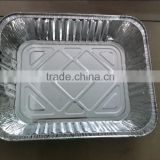 disposable aluminium foil tray for food use