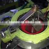china factory weaving machine to make the sponge scourer cloth