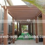composite wood pergola building construction materials facade cheap price wpc