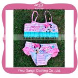 2016 kids cartoon swimwear cute girls swimsuit