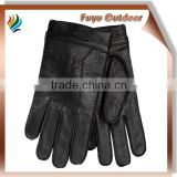 deerskin gloves with cashmere lining, made in china, all size & colors are available