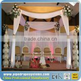 Event wedding aluminum backdrop stand wedding decoration event crystal box pipe and drape rental toronto