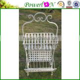 Antique Wrough Iron Basket Magazine Rack Plant Holder Garden Ornament Landscape Decoration For Decking TS05 G00 X00 PL08-5612