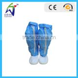 PVC blue anti-static boots for cleanroom