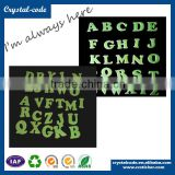High quality colorful waterproof alphabet sticker glow in the dark sticker                                                                         Quality Choice
