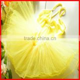2013 Wholesale Yellow Ballet Tutu Dress Costume