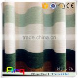 New stripe curtain drape Chenille jacquard fabric for curtain drape/ sofa/cushion                                                                         Quality Choice