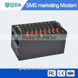 GSM modem Bulk sms advertisement machine with 8 sim card slots