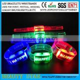 2016 Cheapest wholesale novelty gifts-led flashing wristbands bracelets for bar nightclub concert event festival factory China