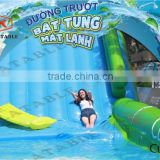 Sealed Giant Inflatable Slip N Slide, Inflatable City Slide, Giant Inflatable Water Slide City
