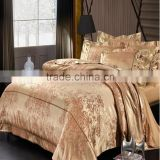 4pcs Europe type jacquard of Wedding bedding set