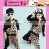 2015 Fashion Autumn Baby Boy And Girl Set Leopard Pattern Factory Price Wholesale Turkish Baby Clothes