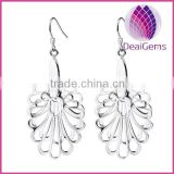 High quality sterling silver 925 phoenix fishhook earring