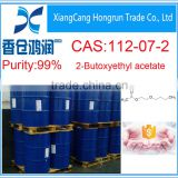 CAS No 112-07-2 Butyl Glycol Acetate for coating industry