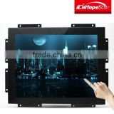 DC 12V or AC 110-240V frameless lcd monitor with 15 inch