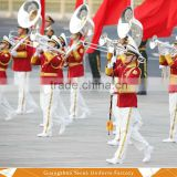 New style military band ceremonial uniform