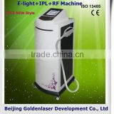 2013 New style E-light+IPL+RF machine www.golden-laser.org/ needle free injection system