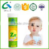 appetizer tablets halal food supplements zinc supplement gluconate effervescent tablet innerpower food supplement