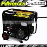 Hot Sale!!! POWERGEN Air-cooled Dynamo Power 50/60Hz Single Phase Diesel Generator Set 5KW Genset
