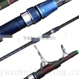 100% Carbon Telescopic Surf Rod Cheap Fishing Rod