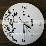 round metal wall clock promotional gift
