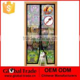 Hands Free New Printed Magic Mesh Screen Net Door with Magnets Anti Mosquito Bug Curtain H0201
