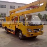 14m RHD foton Boom Truck with Insulated Bucket