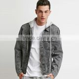 best price men jean denim jacket hoodies wholesale suppliers